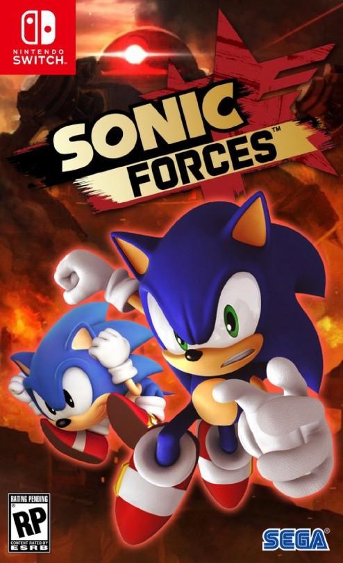 Sonic Forces Русская Версия (Switch)