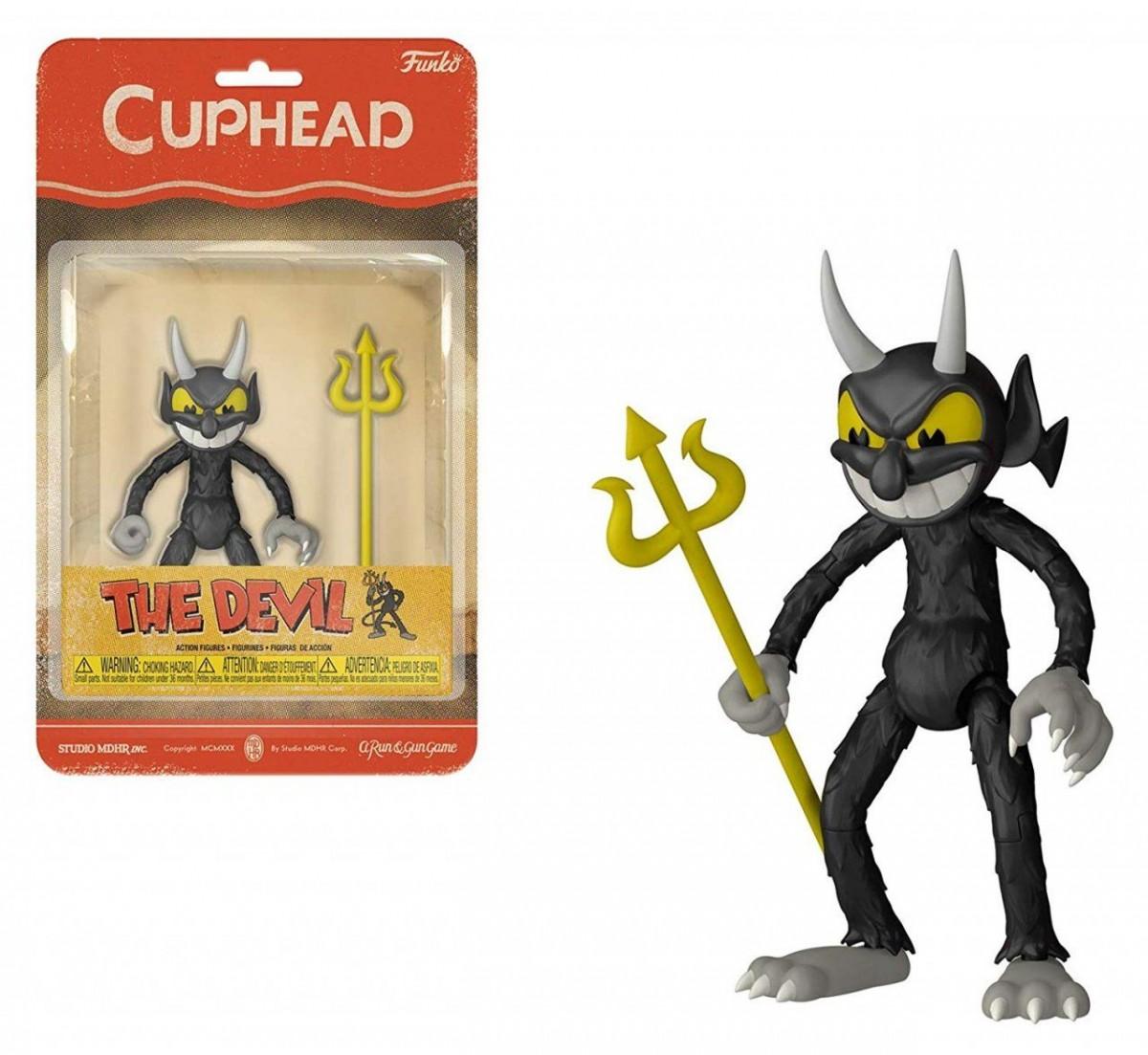 Фигурка Funko Action Figure: Дьявол (The Devil) Чашкоголовый (Cuphead) (33424) 10 см