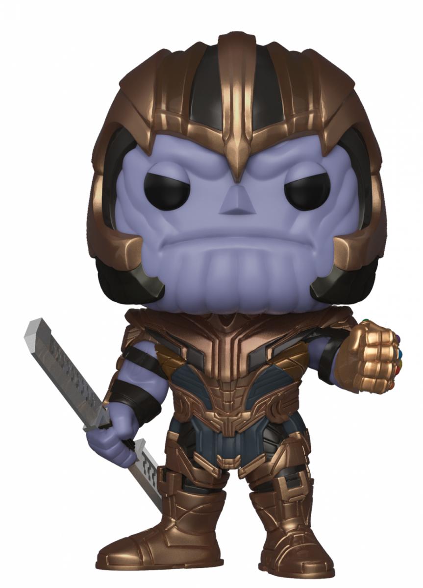 Фигурка Funko POP! Bobble: Танос (Thanos) Мстители: Финал (Avengers Endgame) (36672) 9,5 см