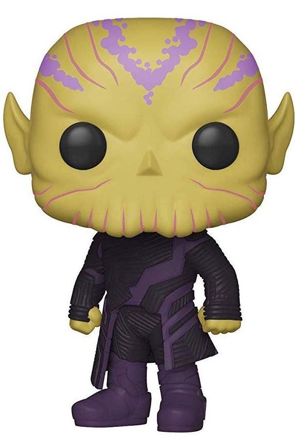 Фигурка Funko POP! Bobble: Талос (Talos) Капитан Марвел (Captain Marvel) (36378) 9,5 см