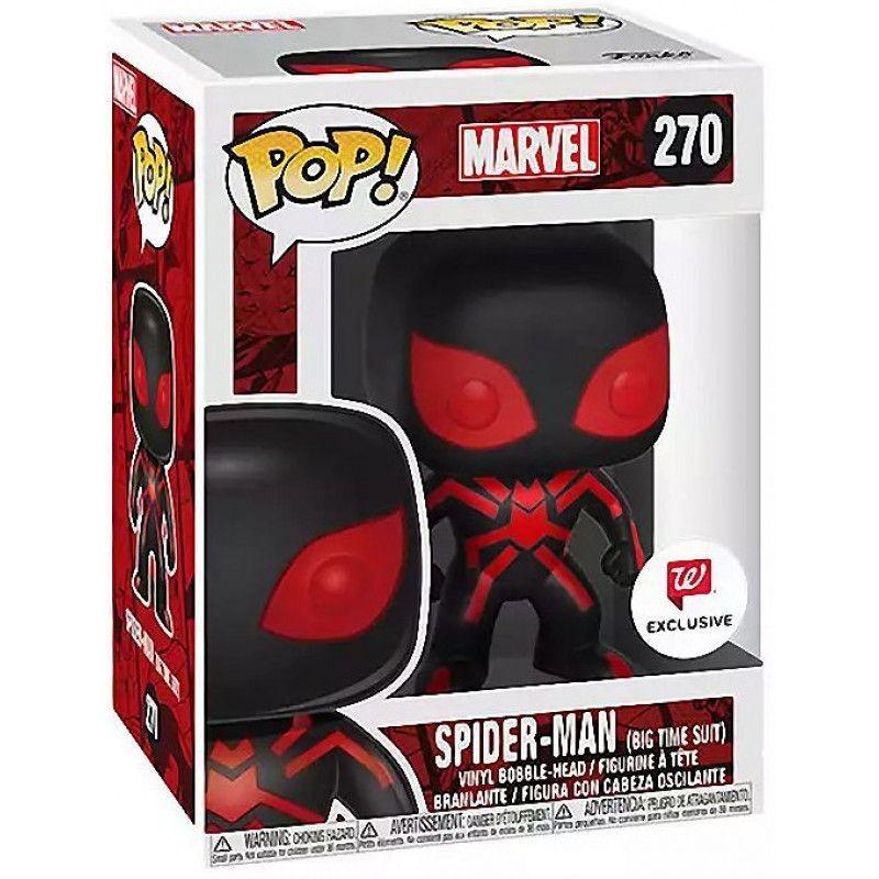 Фигурка Funko POP! Bobble: Человек-паук воплощение с будущего (Future Foundation Spider-Man (Exc)) (25862) 9,5 см