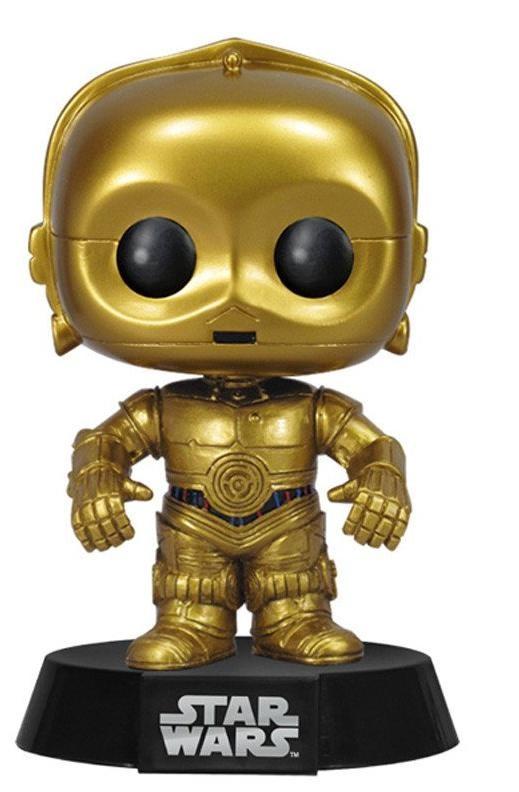 Фигурка Funko POP! Bobble: Звёздные Войны (Star Wars): Си-Трипио (C-3PO) (2387) 9,5 см