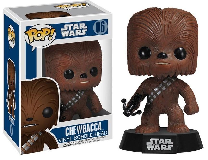 Фигурка Funko POP! Bobble: Звёздные Войны (Star Wars): Чубакка (Chewbacca) (2324) 9,5 см