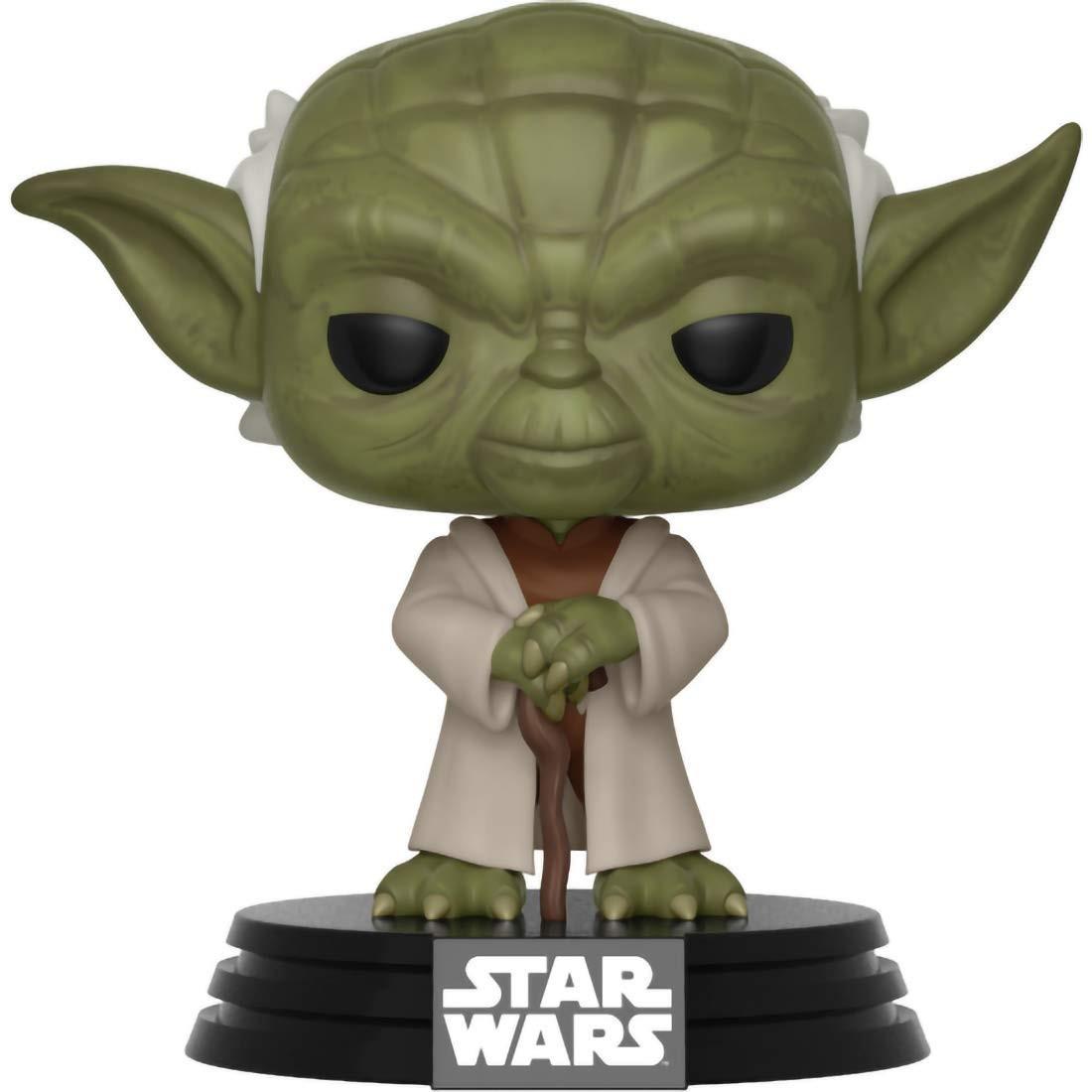 Фигурка Funko POP! Bobble: Йода (Yoda) (Star Wars: Clone Wars) (31799) 9,5 см