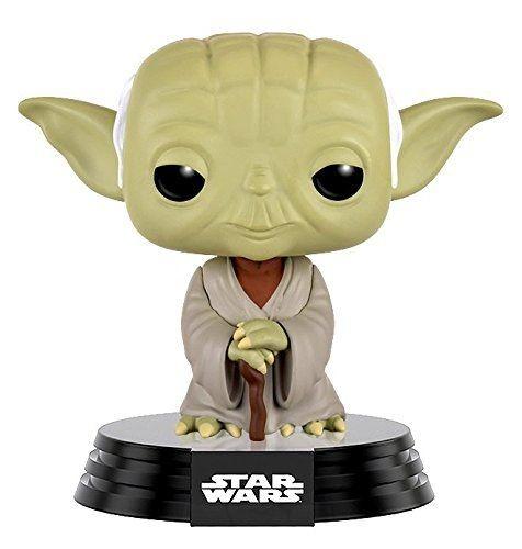 Фигурка Funko POP! Bobble: Звёздные Войны (Star Wars): Дагоба Йода (Dagobah Yoda) (10105) 9,5 см