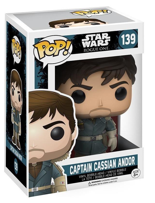 Фигурка Funko POP! Bobble: Звёздные Войны: Изгой-один (Star Wars: Rogue One): Капитан Кассиан Андора в горном костюме (Captain Cassian Andor Mountain Outfit)