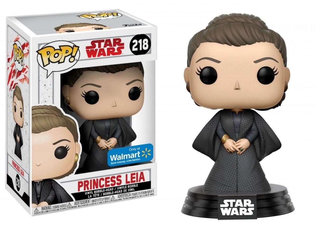 Фигурка Funko POP! Bobble: Звёздные войны: Последние джедаи (Star Wars: The Last Jedi): Принцесса Лея (Princess Leia) (22416) 9,5 см