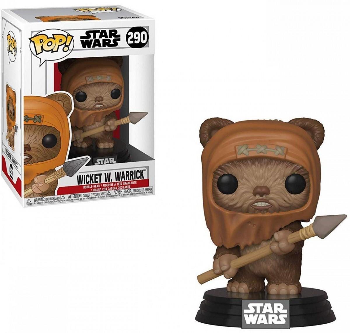 Фигурка Funko POP! Bobble: Звёздные Войны (Star Wars): Уикет (Wicket) (37525) 9,5 см