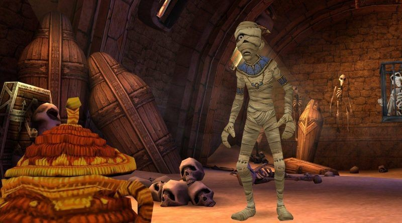 Sphinx and the Cursed Mummy (Switch)