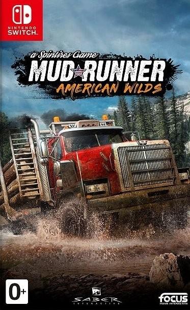 Spintires: MudRunner American Wilds Русская Версия (Switch)