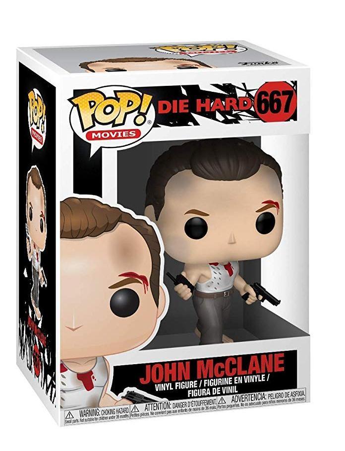 Фигурка Funko POP! Vinyl: Джон МакКлейн (John McClane) Крепкий орешек (Die Hard) (34868) 9,5 см