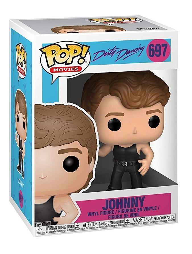 Фигурка Funko POP! Vinyl: Джонни (Johnny) Грязные танцы (Dirty Dancing) (36397) 9,5 см