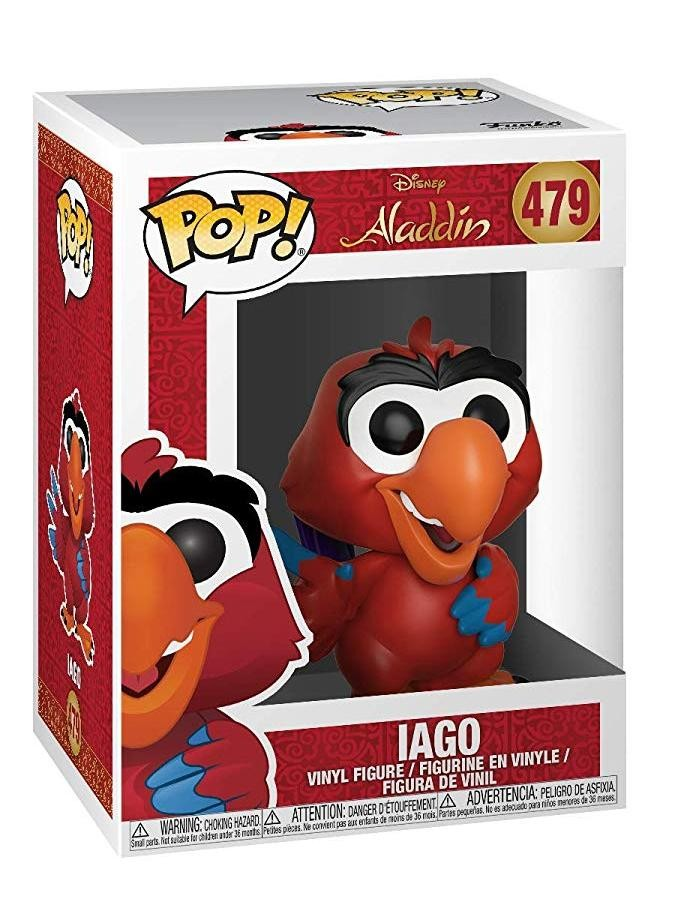 Фигурка Funko POP! Vinyl: Яго (Iago) Аладдин (Aladdin) (35756) 9,5 см