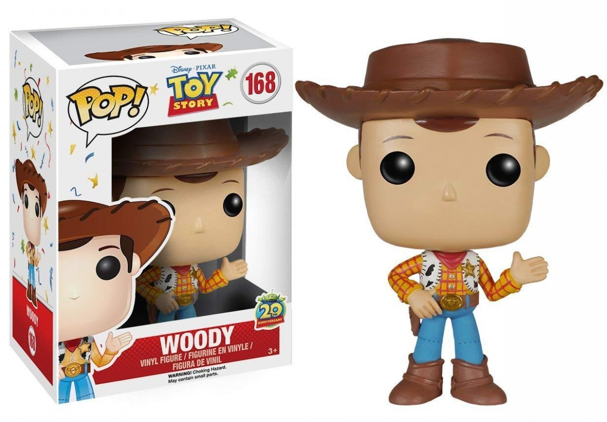 Фигурка Funko POP! Vinyl: Вуди (Woody) История игрушек (Toy Story) (6877 (new pose)) 9,5 см