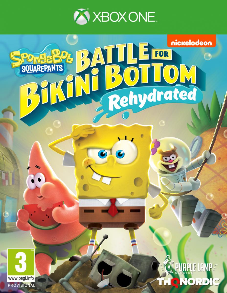 SpongeBob SquarePants: Battle For Bikini Bottom - Rehydrated (Губка Боб Квадратные Штаны: Битва за Бикини Боттом - Регидратация) Русская версия (Xbox