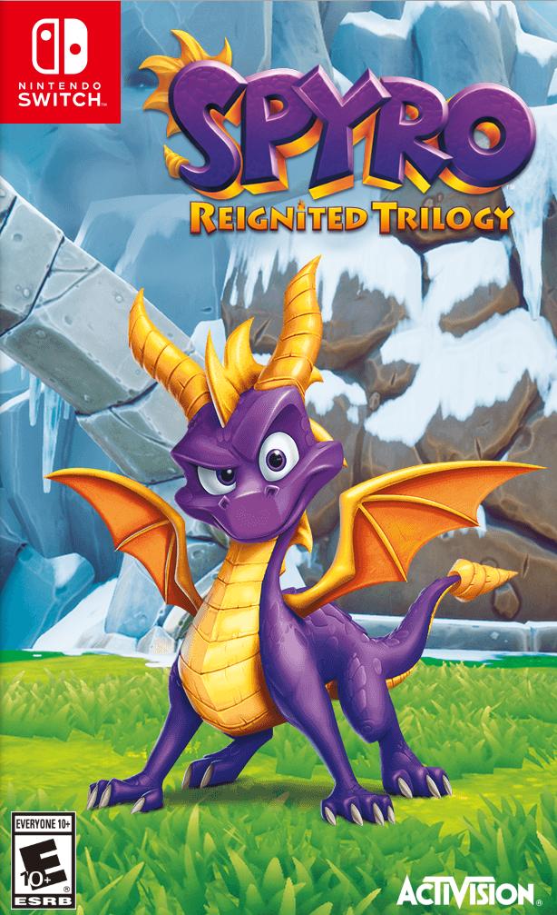 Spyro Reignited Trilogy (Спайро Трилогия) (Switch)