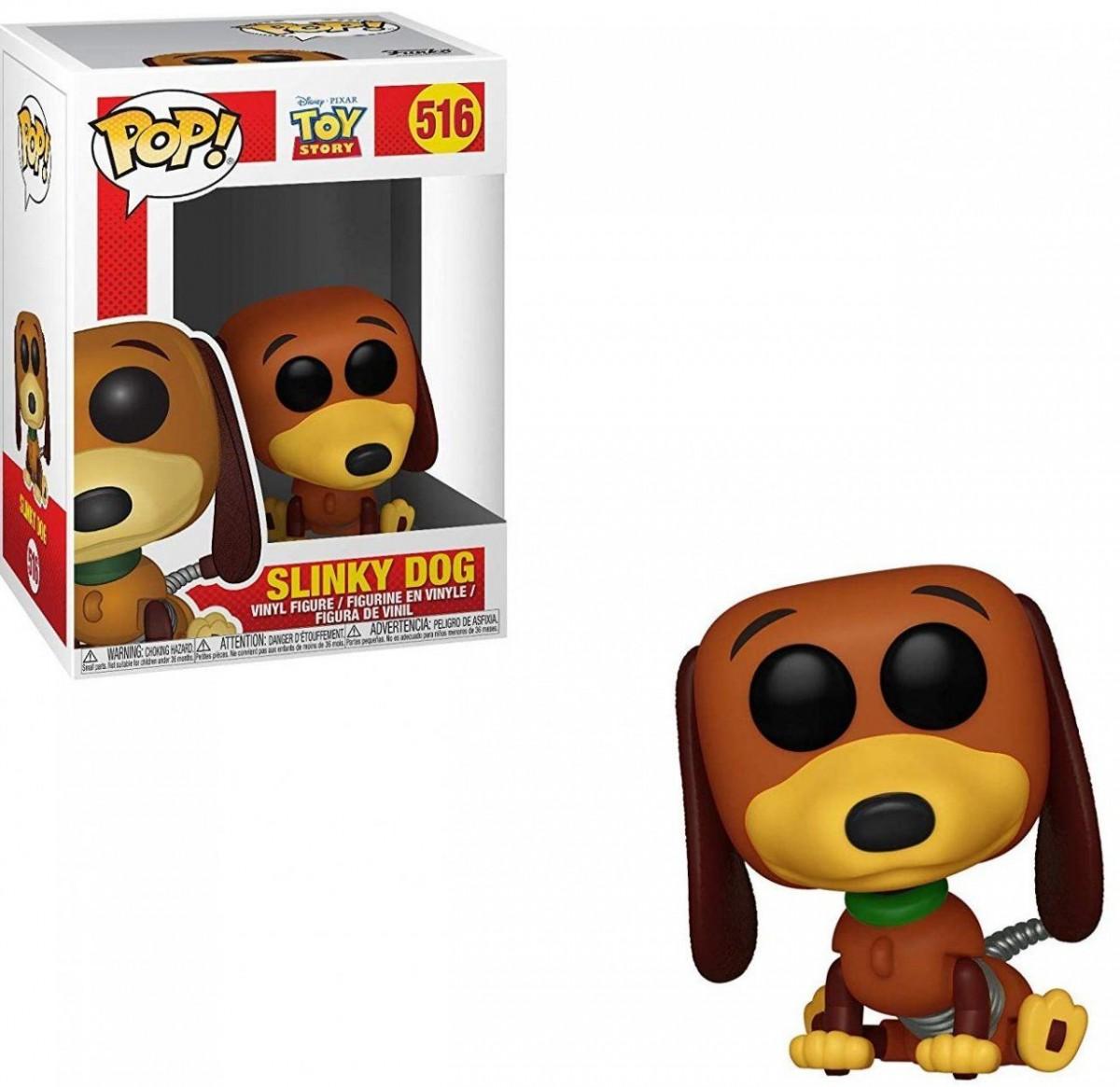 Фигурка Funko POP! Vinyl: Собачка Спиралька (Slinky Dog) История игрушек (Toy Story) (37010) 9,5 см