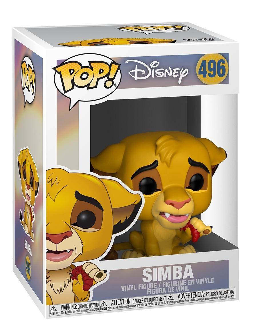 Фигурка Funko POP! Vinyl: Симба (Simba) Король лев (Lion King) (36395) 9,5 см