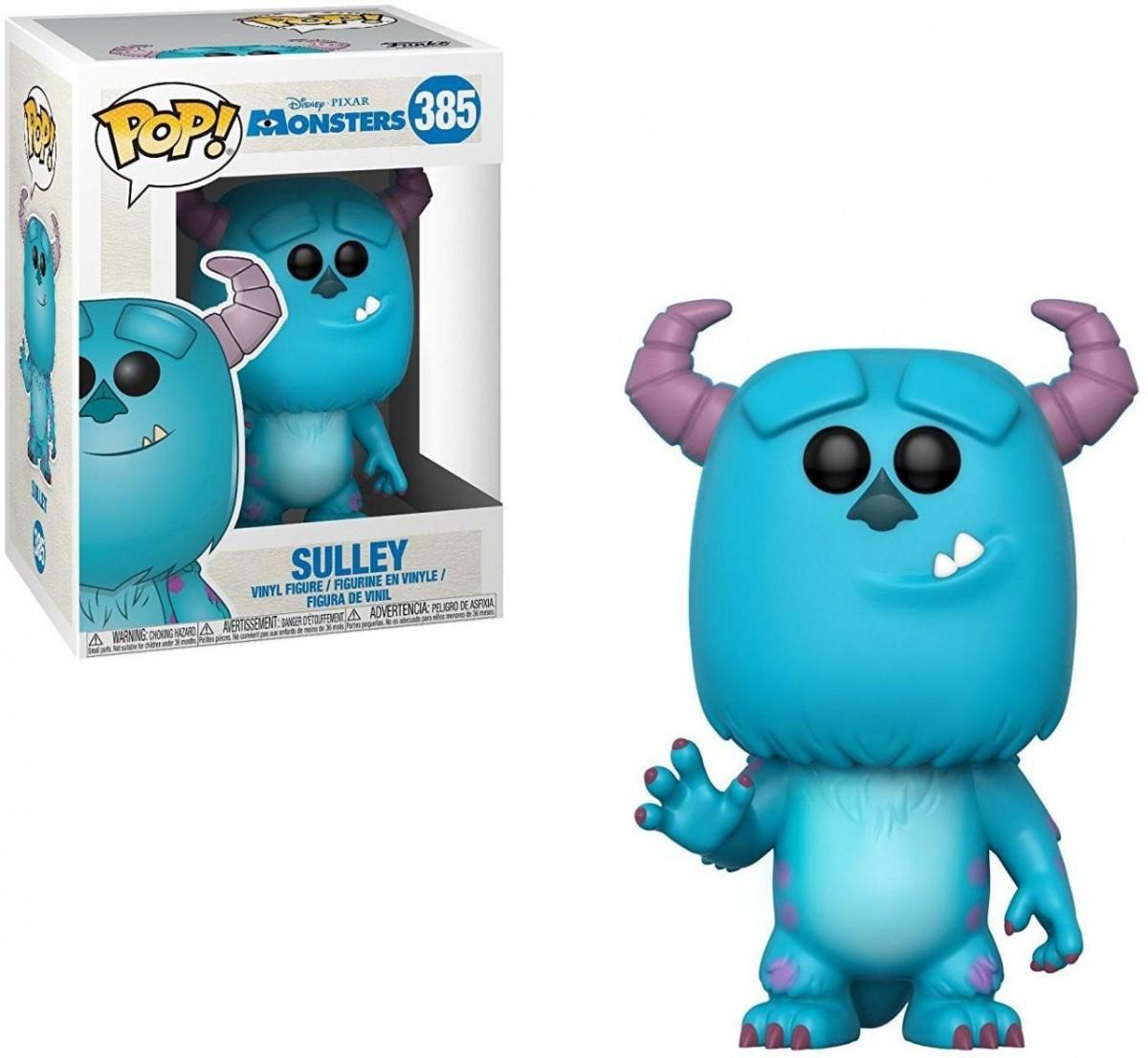 Фигурка Funko POP! Vinyl: Салли (Sulley) (Корпорация монстров(Monsters, Inc.)) (29391) 9,5 см