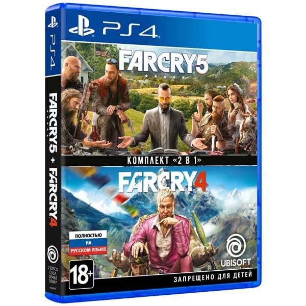 Far Cry 4 + Far Cry 5 (PS4)