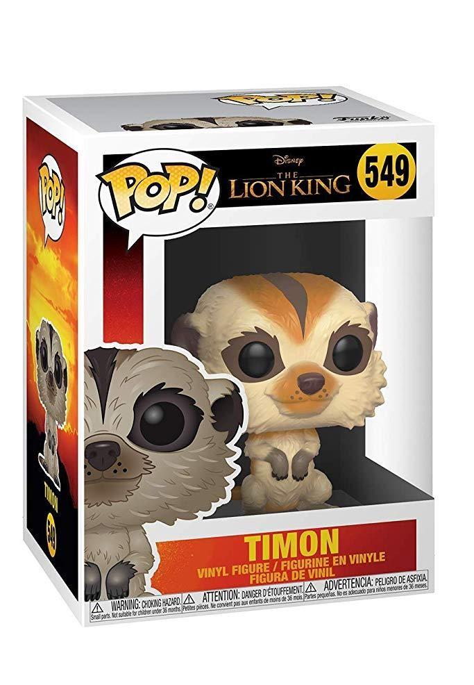 Фигурка Funko POP! Vinyl: Тимон (Timon) Король лев (The Lion King (Live Action)) (38544) 9,5 см