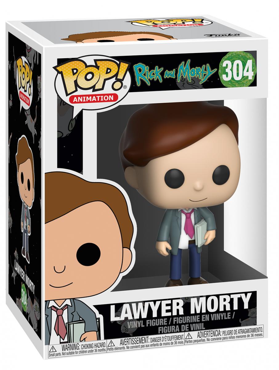 Фигурка Funko POP! Vinyl: Рик и Морти (Rick and Morty) 3 Сезон (S3) Морти Адвокат (Lawyer Morty) (22963) 9,5 см
