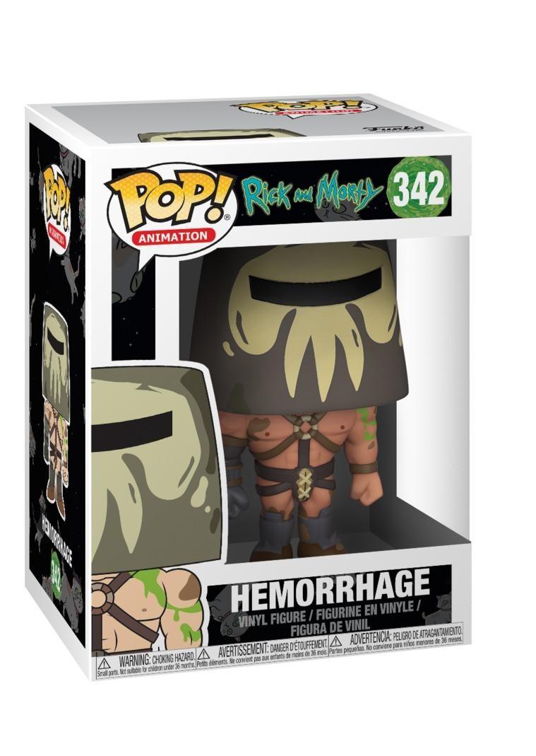 Фигурка Funko POP! Vinyl: Рик и Морти (Rick and Morty) Кровотек (Hemorrhage) (28453) 9,5 см