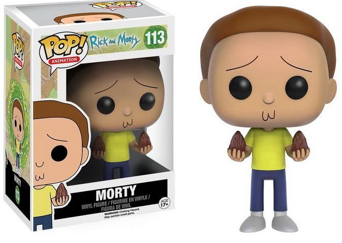 Фигурка Funko POP! Vinyl: Рик и Морти (Rick and Morty) Морти (Morty) (9016) 9,5 см