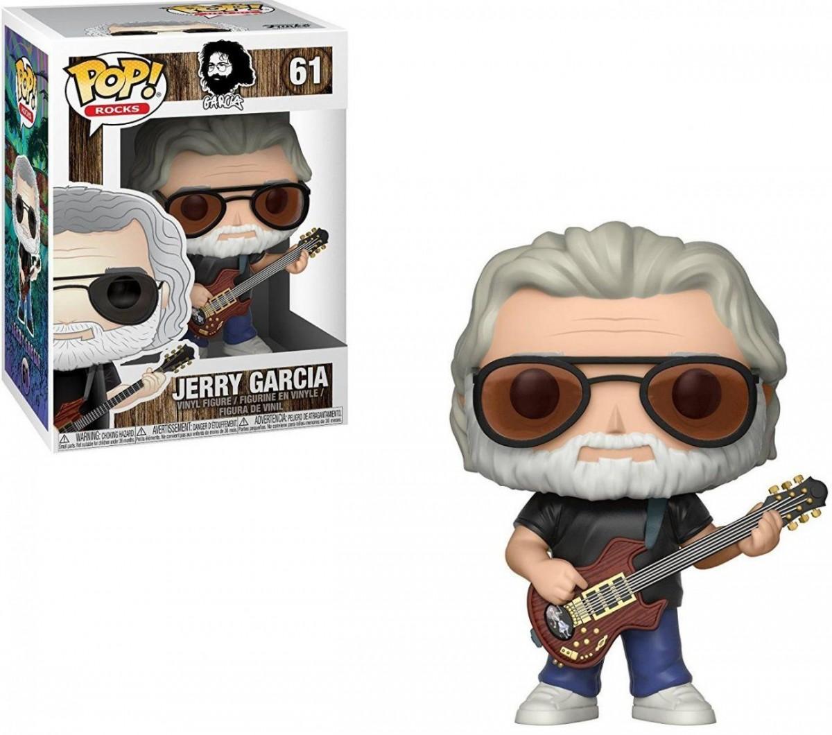 Фигурка Funko POP! Vinyl: Джерри Гарсия (Jerry Garcia) (24528) 9,5 см