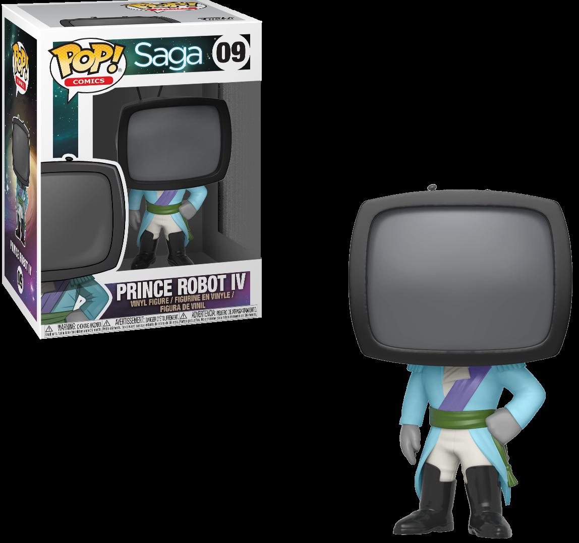Фигурка Funko POP! Vinyl: Принц Робот IV (Prince Robot IV) Сага 1 Сезон (Saga S1) (27415) 9,5 см