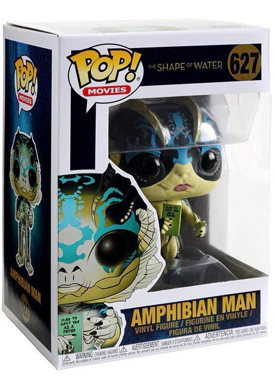 Фигурка Funko POP! Vinyl: Человек-амфибия с открыткой (Amphibian Man w/ Card) Форма воды (Shape of Water) (32541) 9,5 см