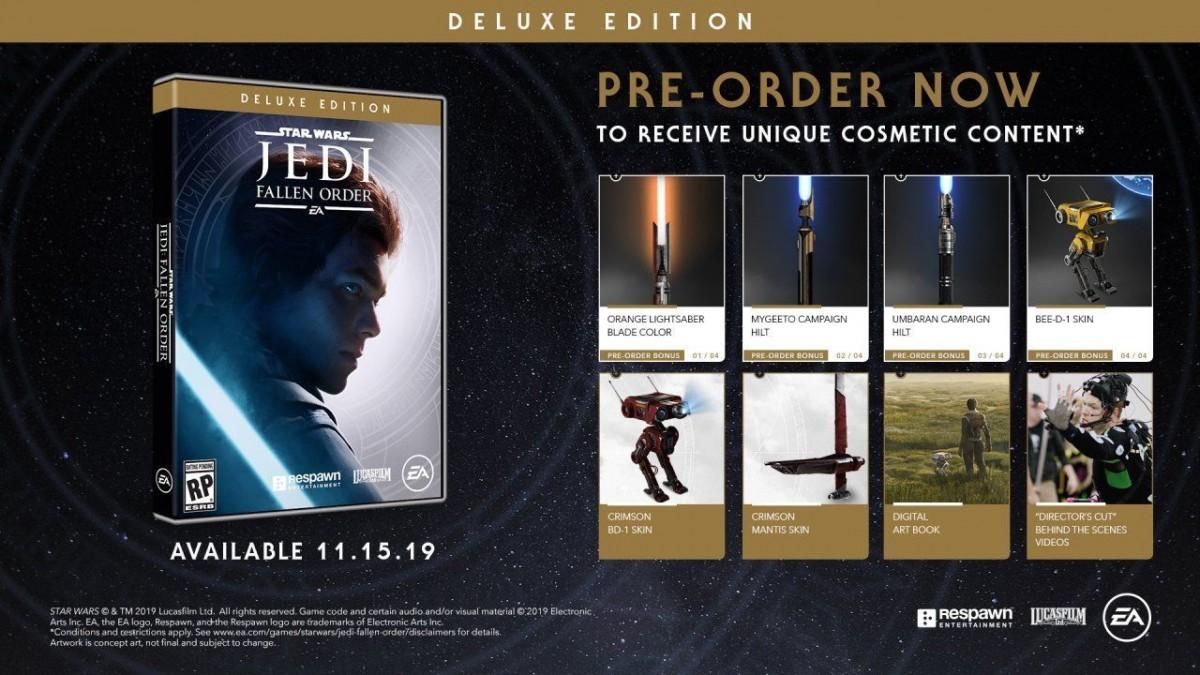 Star Wars: JEDI Fallen Order (Джедаи: Павший Орден) - Deluxe Edition (Xbox One)