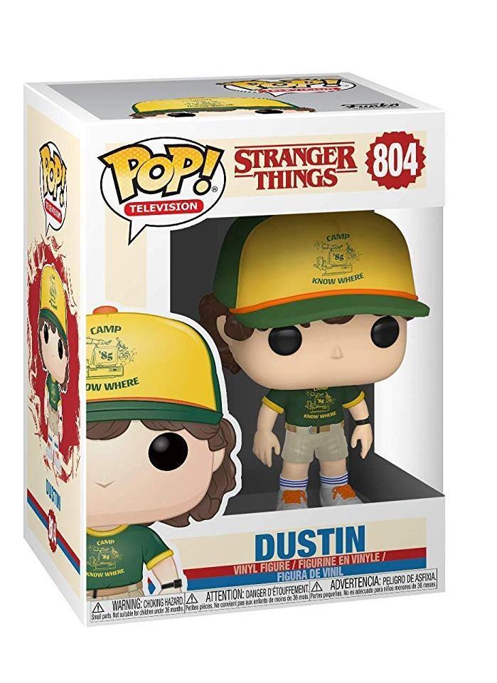 Фигурка Funko POP! Vinyl: Дастин в форме лагеря (Dustin (At Camp)) Очень странные дела (Stranger Things) (38532) 9,5 см