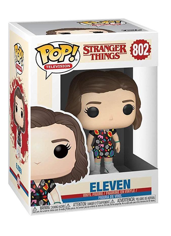 Фигурка Funko POP! Vinyl: Одиннадцать в платье с ТЦ (Eleven in Mall Outfit) Очень странные дела (Stranger Things) (38536) 9,5 см