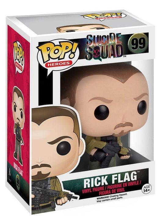 Фигурка Funko POP! Vinyl: Рик Флэг (Rick Flag) Отряд самоубийц (Suicide Squad) (8404) 9,5 см