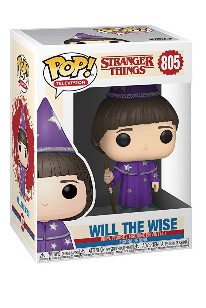 Фигурка Funko POP! Vinyl: Уилл Мудрый (Will (the Wise)) Очень странные дела (Stranger Things) (38533) 9,5 см
