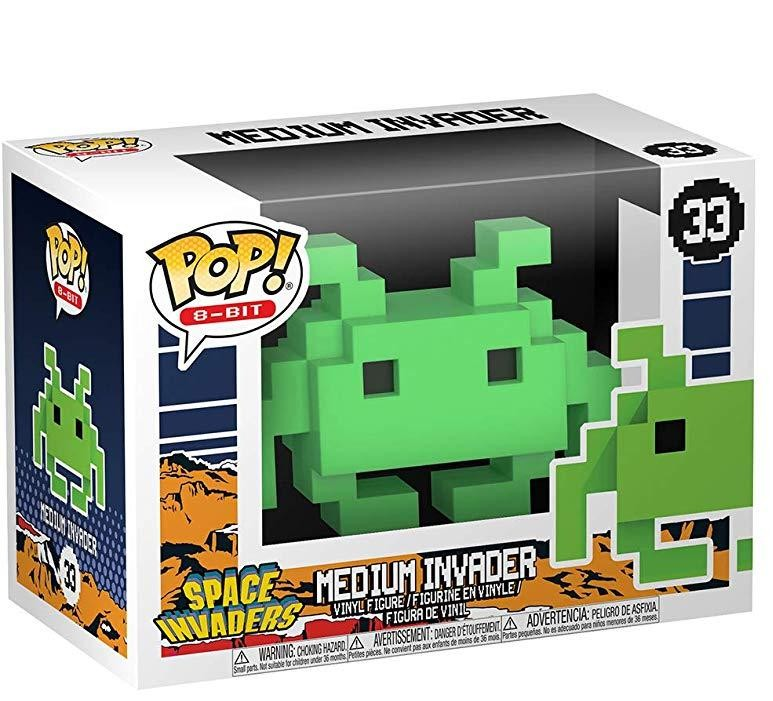 Фигурка Funko POP! Vinyl: Пиксельный инопланетный захватчик (MD Invader) Космические захватчики (Space Invaders) (32454) 9,5 см