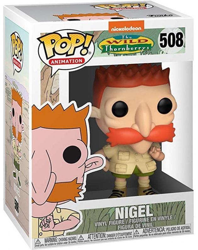Фигурка Funko POP! Vinyl: Найджел (Nigel) Никелодеон 90-тые (90s Nickelodeon) (35577) 9,5 см