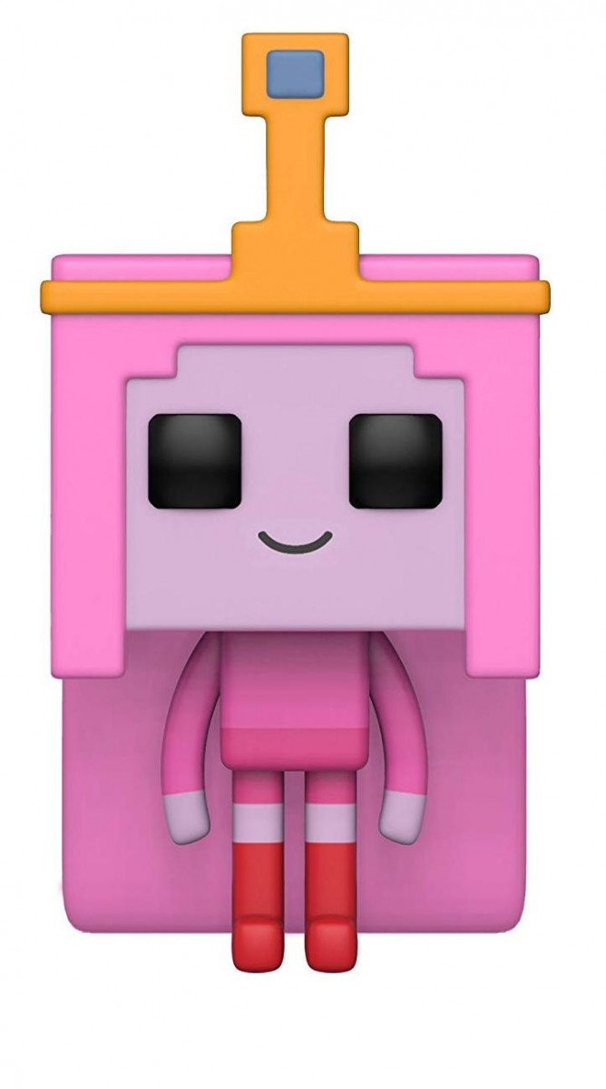 Фигурка Funko POP! Vinyl: Принцесса Жвачка (Princess Bubblegum) Время приключений/Майнкрафт 1 Сезон (Adventure Time/Minecraft S1) (32253) 9,5 см