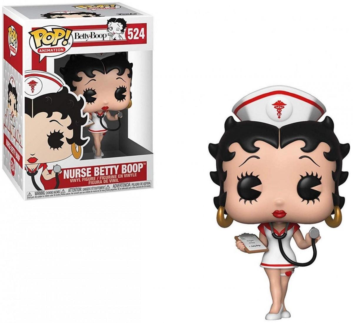 Фигурка Funko POP! Vinyl: Бетти Буп медсестра (Nurse) Бетти Буп (Betty Boop) (35589) 9,5 см