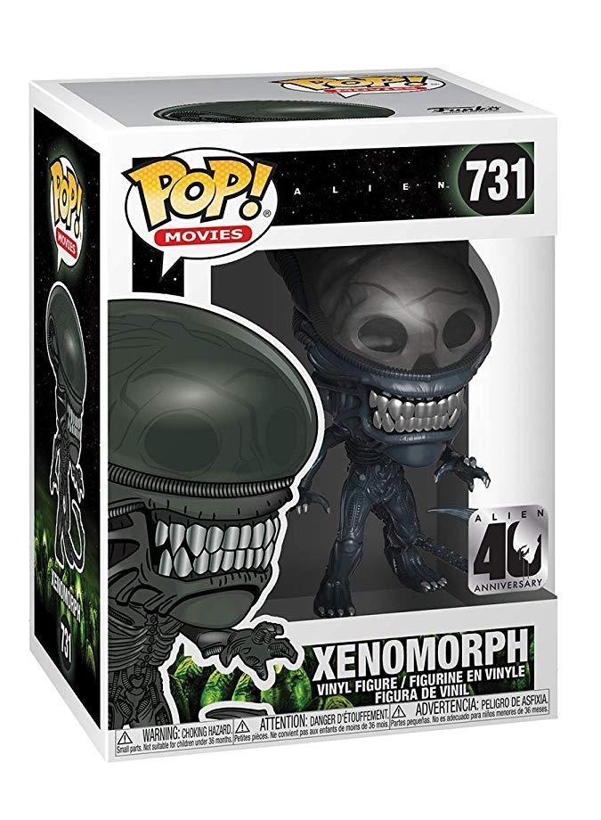 Фигурка Funko POP! Vinyl: Чужой (Xenomorph) Чужой 40 годовщина (Alien 40th) (37743) 9,5 см