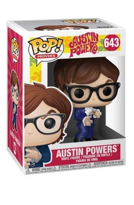 Фигурка Funko POP! Vinyl: Остин Пауэрс (Austin Powers) (30773) 9,5 см