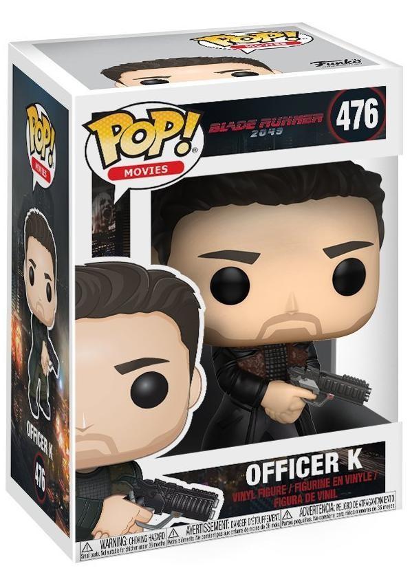 Фигурка Funko POP! Vinyl: Офицер (Officer) Бегущий по лезвию 2049 (Blade Runner 2049) (21554) 9,5 см