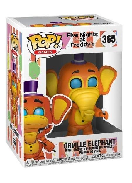 Фигурка Funko POP! Vinyl: Слон Орвилл (Orville Elephant) Пиццерия Фредди Фазбера (FNAF Pizza) (32057) 9,5 см
