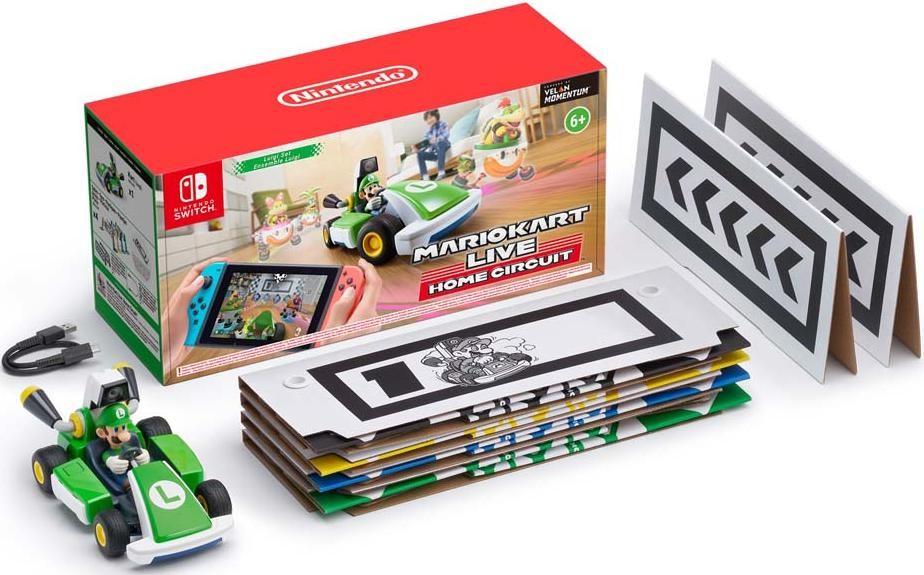 Mario Kart Live: Home Circuit набор Luigi (Switch)