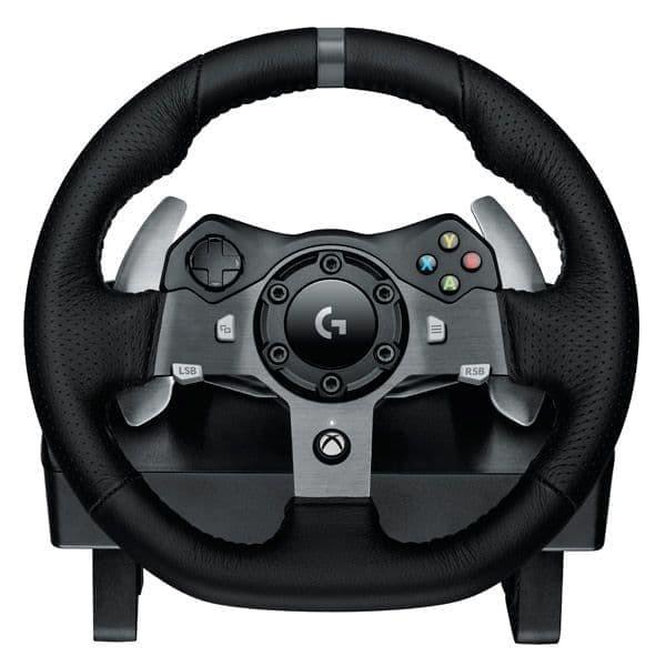 Руль Logitech G920 Driving Force + педали