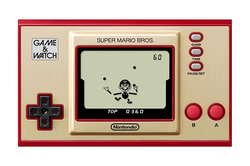 Game & Watch Super Mario Bros