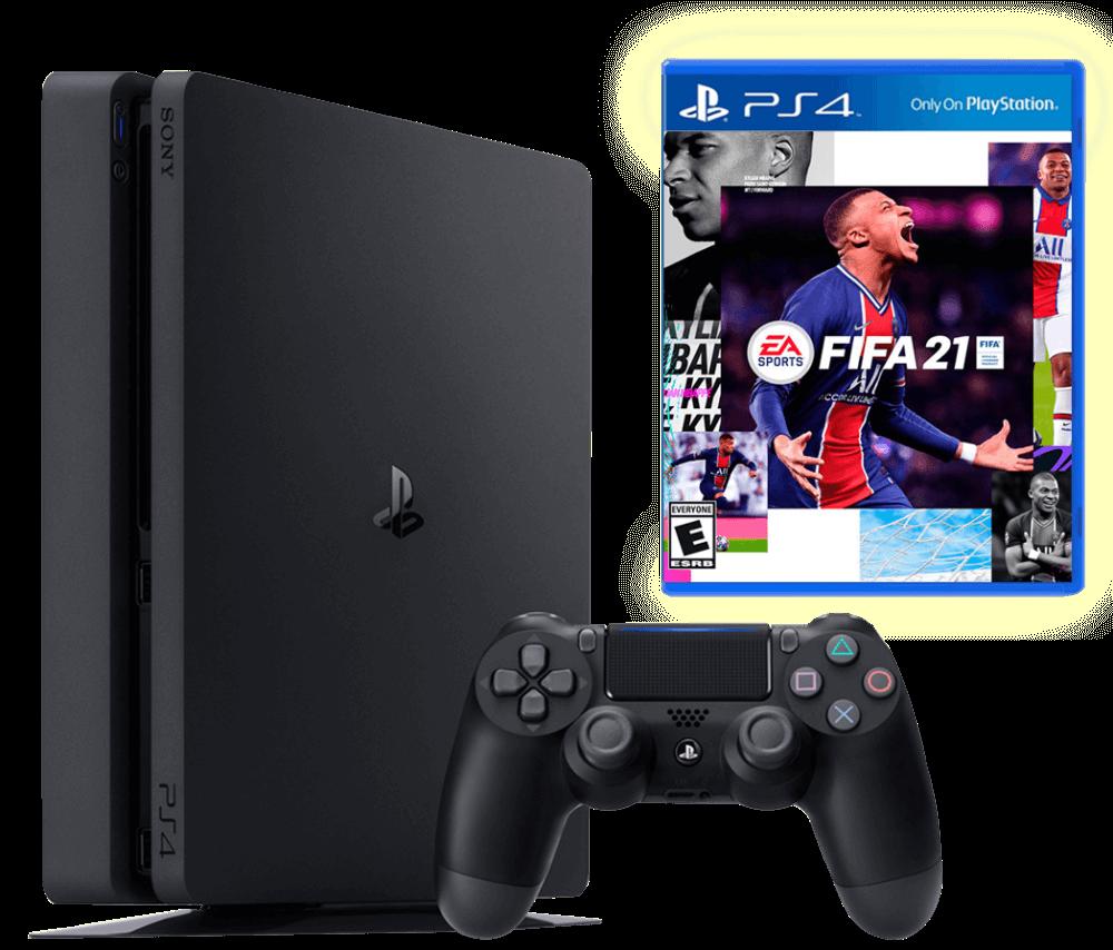 Sony PlayStation 4 Slim 500Gb + FIFA 21