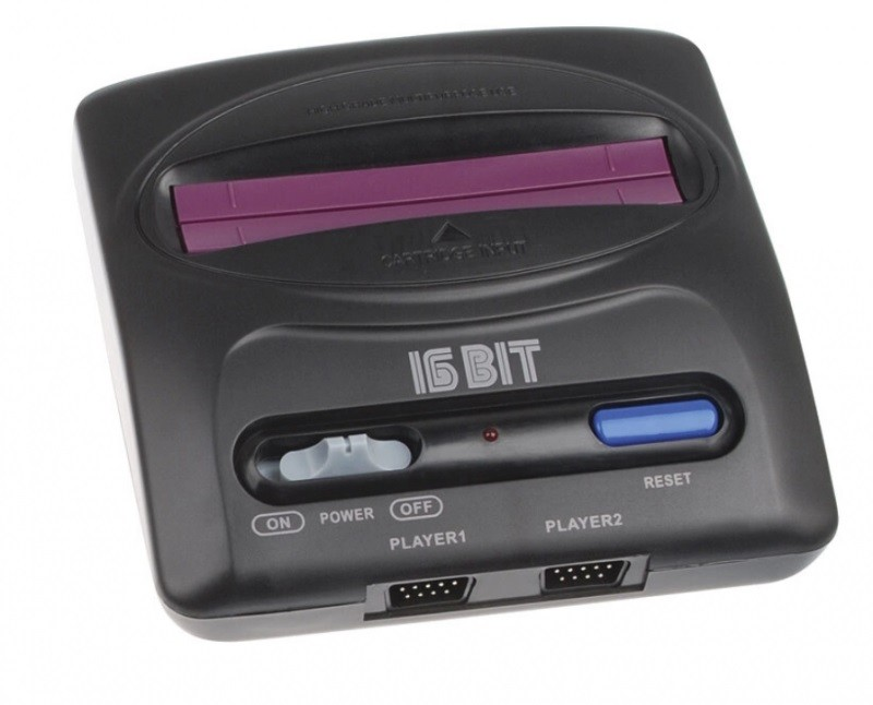 Игровая приставка Sega Magistr Drive 2 lit x 252 игры