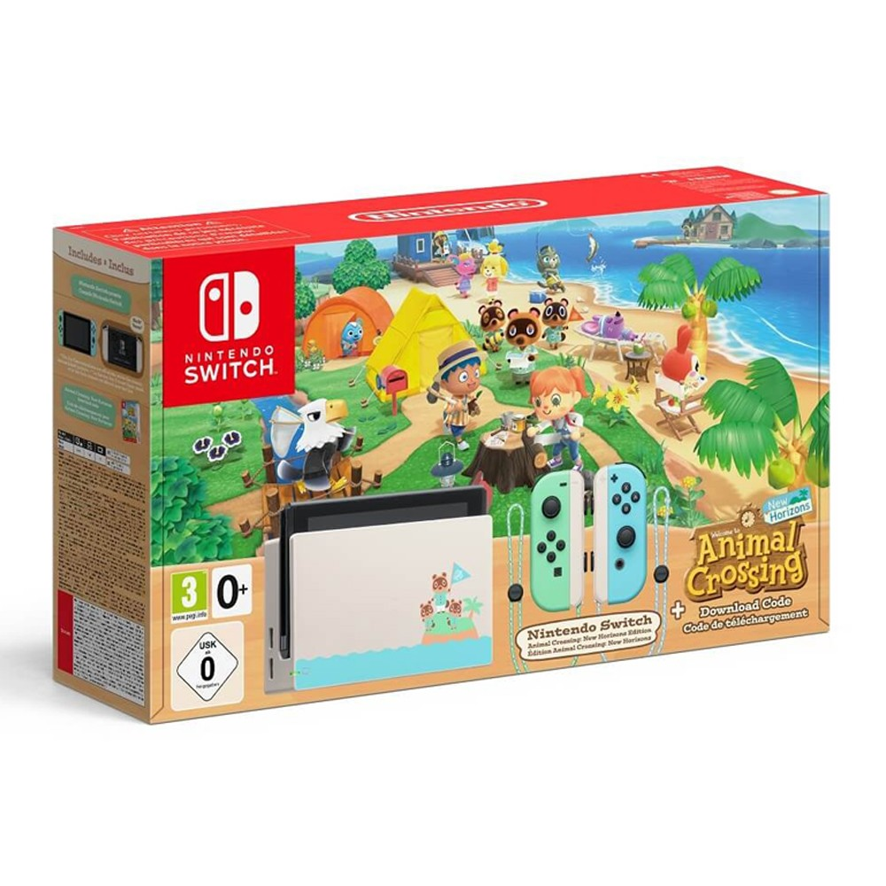 Nintendo Switch - Издание Animal Crossing New Horizons